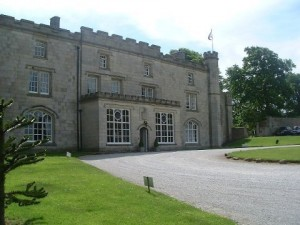 Thurnham Hall Main Entrance View